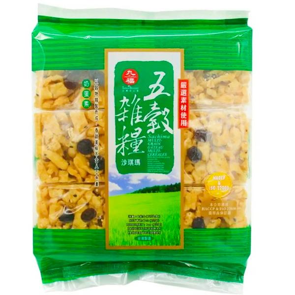 九福五穀雜糧沙其瑪-蛋奶素