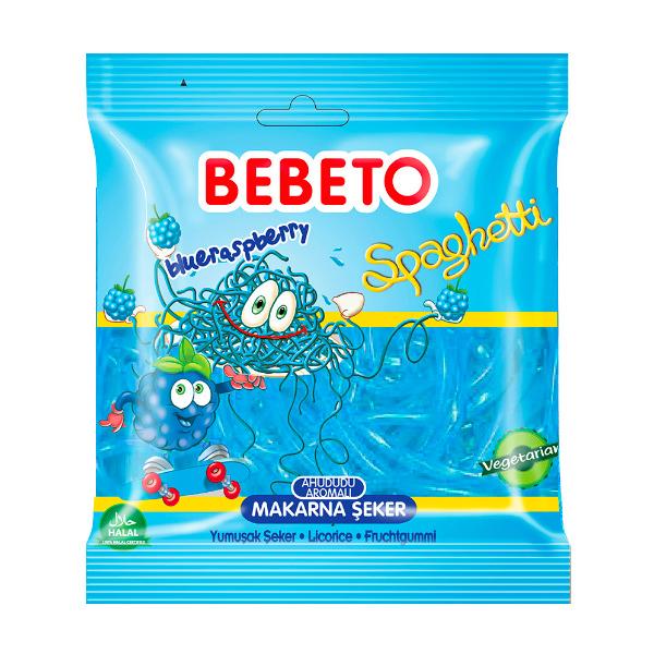 BEBETO莓果味酸粉軟糖80g-全素