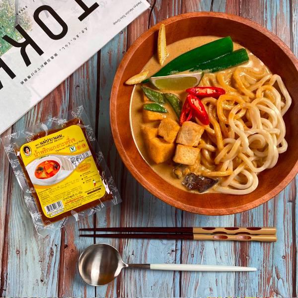 MAEPRANOM泰國素食黃咖哩醬50g-全素
