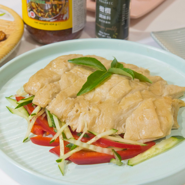 大瑪佛心素醃雞800g-全素 南洋素食, 南洋蔬食