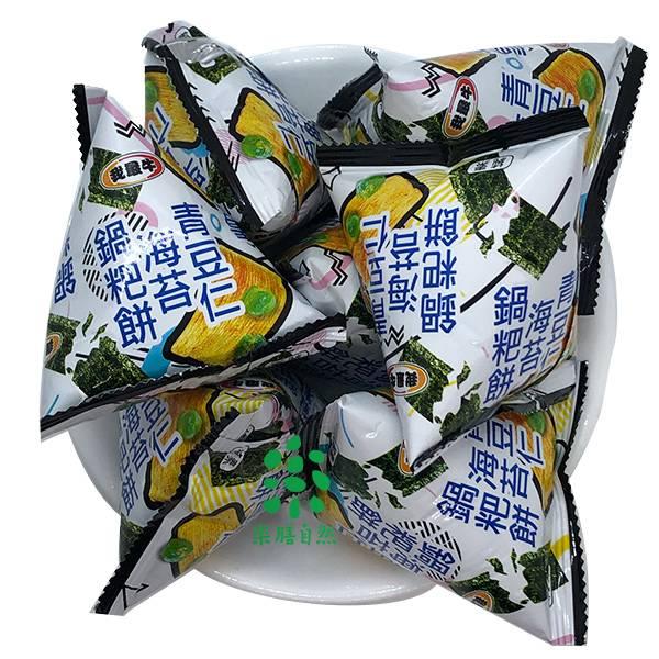 厚毅青豆仁海苔鍋粑餅乾-全素