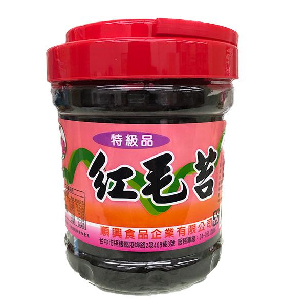 順興特級紅毛苔90g-全素