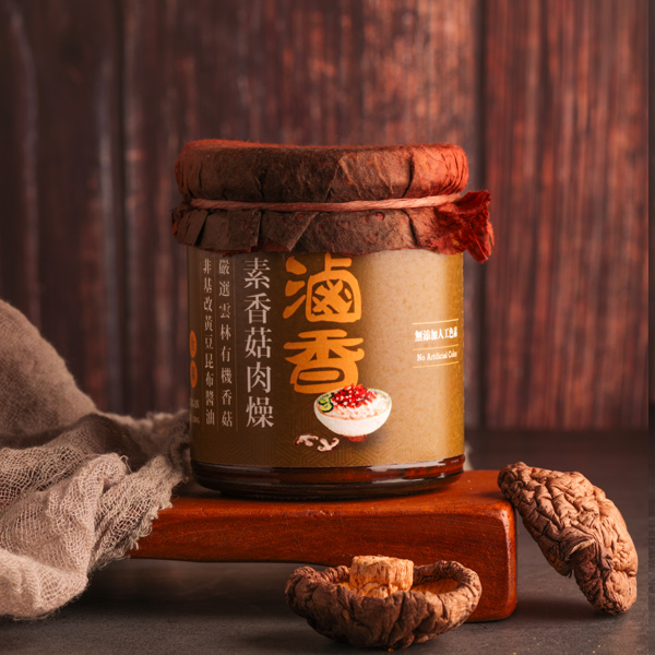 善果滷香素香菇肉燥240g-全素