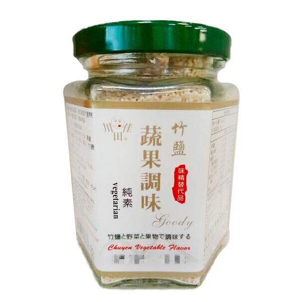 川田佳竹鹽蔬果調味-全素