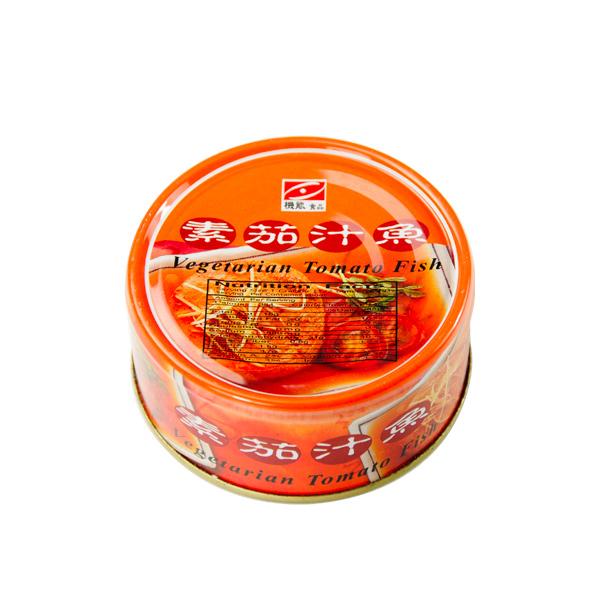 雅芝齋素茄汁魚130g-全素