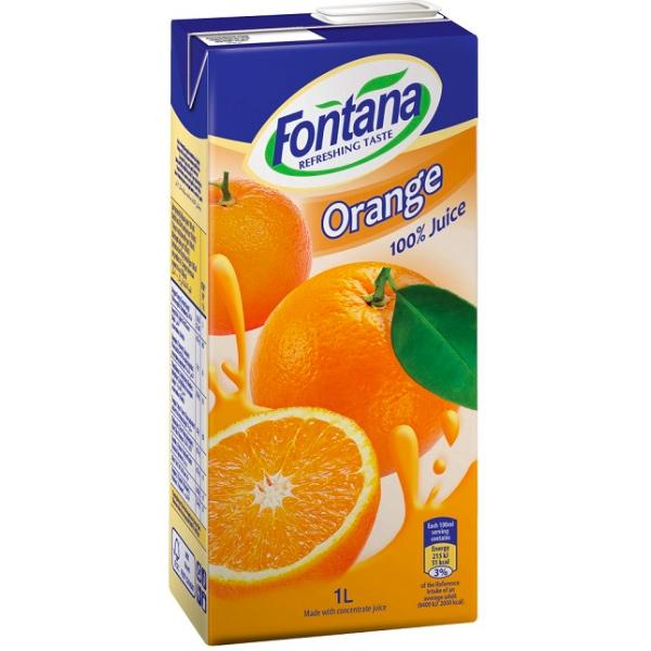 FONTANA柳橙汁1L-全素