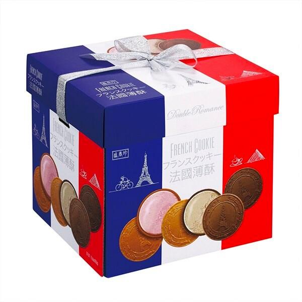 盛香珍法國薄餅(草莓/維也納咖啡)-蛋奶素