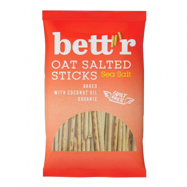 Bett'r高纖燕麥棒(海鹽)50g-全素