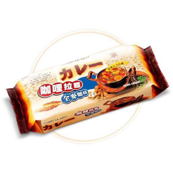 承昌咖哩拉麵(捲捲麵)420G-全素
