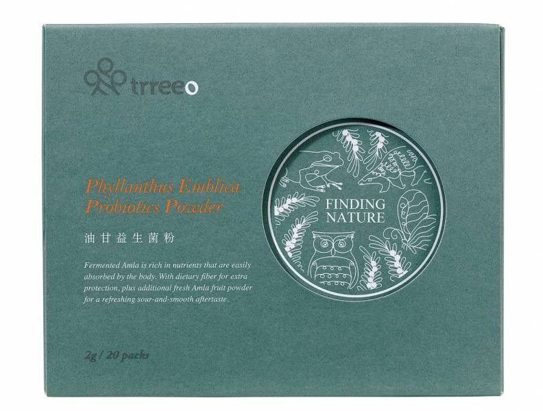 樹重奏油甘益生菌粉(20包)盒-全素