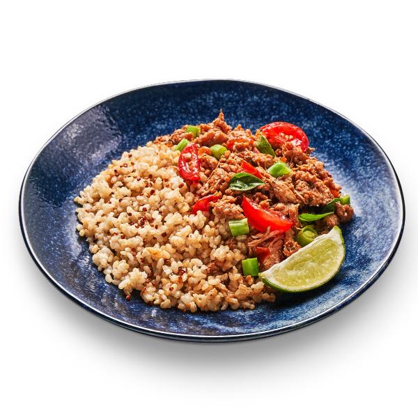 RICORICO泰式羅勒檸香未來豬(藜麥糙米飯)-全素