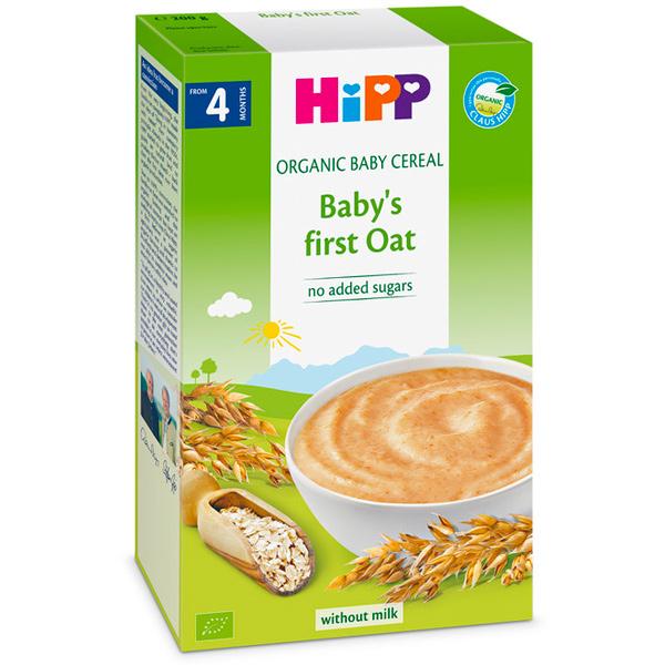 HiPP喜寶有機寶寶燕麥精200g-全素