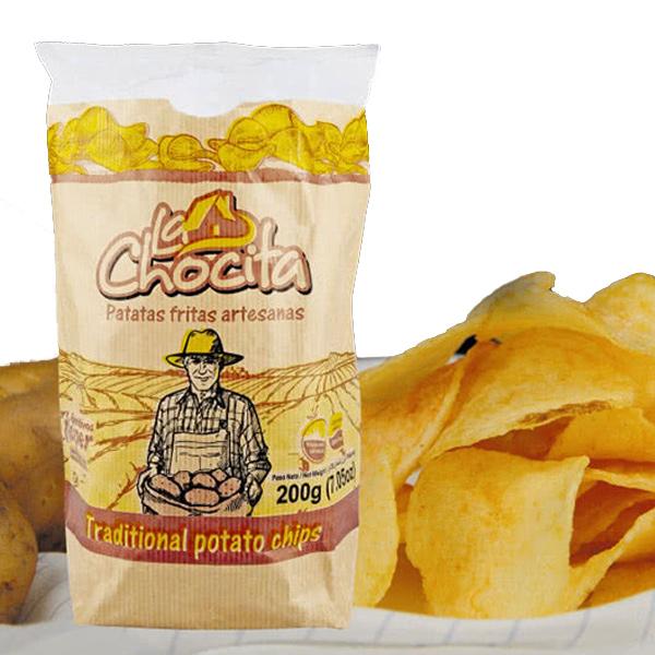 飛寶LA CHOCITA CHIP洋芋片(原味)200g-全素