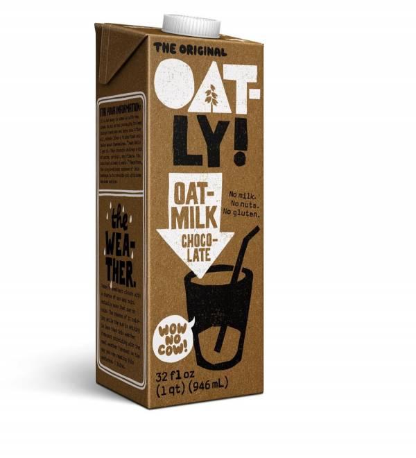 Oatly燕麥奶巧克力1000ml-全素