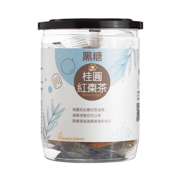 蜜思朵黑糖桂圓紅棗茶12入-全素
