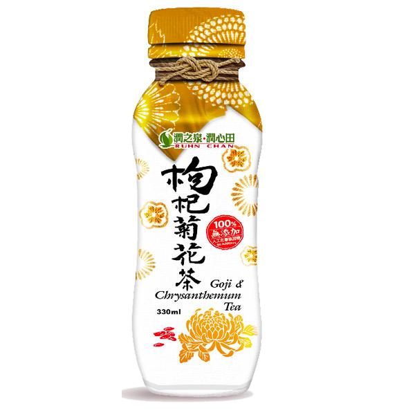 潤之泉枸杞菊花茶330ML-全素