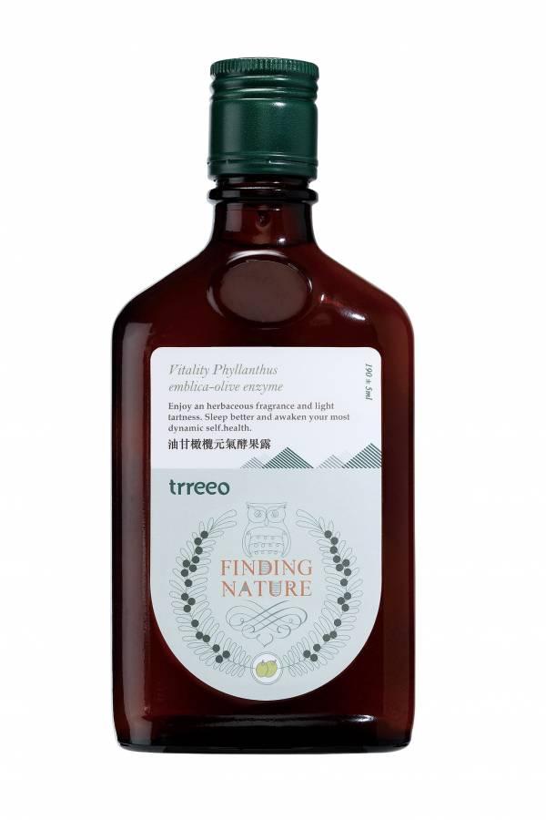 樹重奏油甘橄欖元氣酵果露190ml-全素