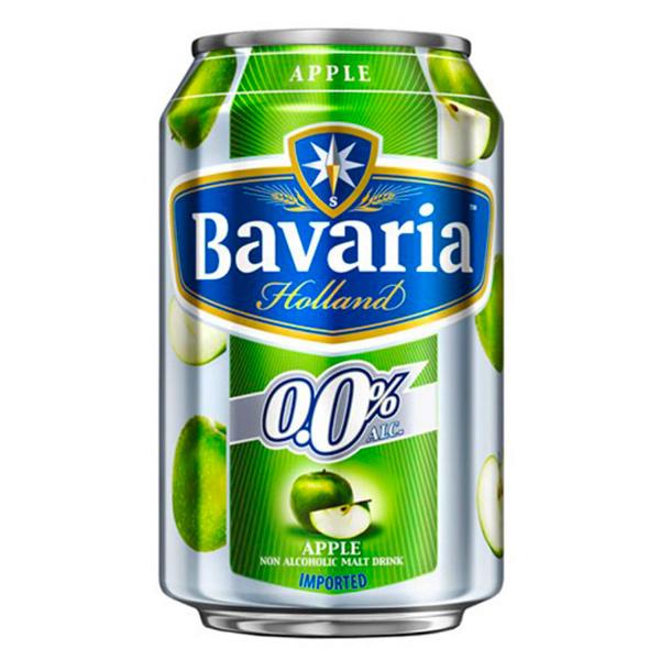 Bavaria巴伐亞蘋果風味麥釀蘇打-全素