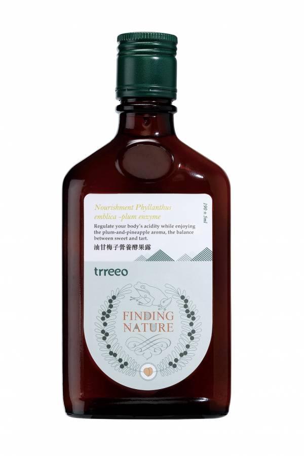 樹重奏油甘梅子營養酵果露190ml-全素