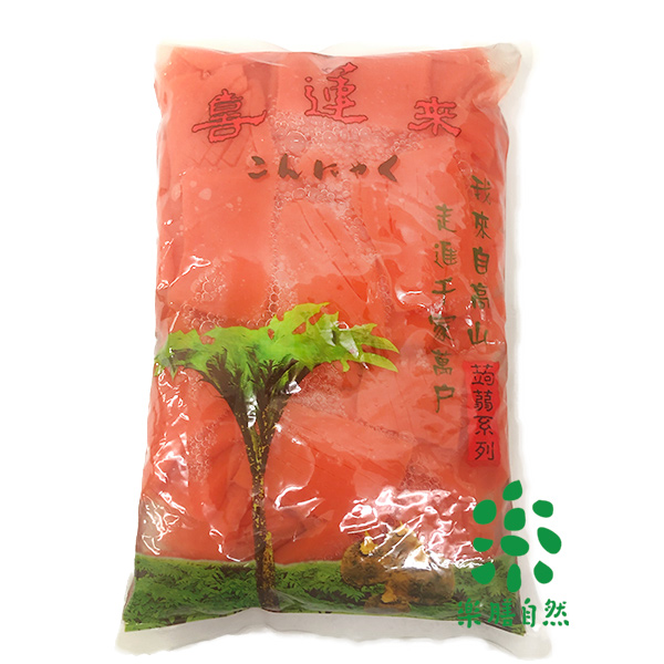 喜蓮來蒟蒻紅魷魚片-全素