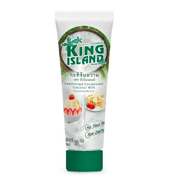 國王島椰子煉乳180g/條-全素