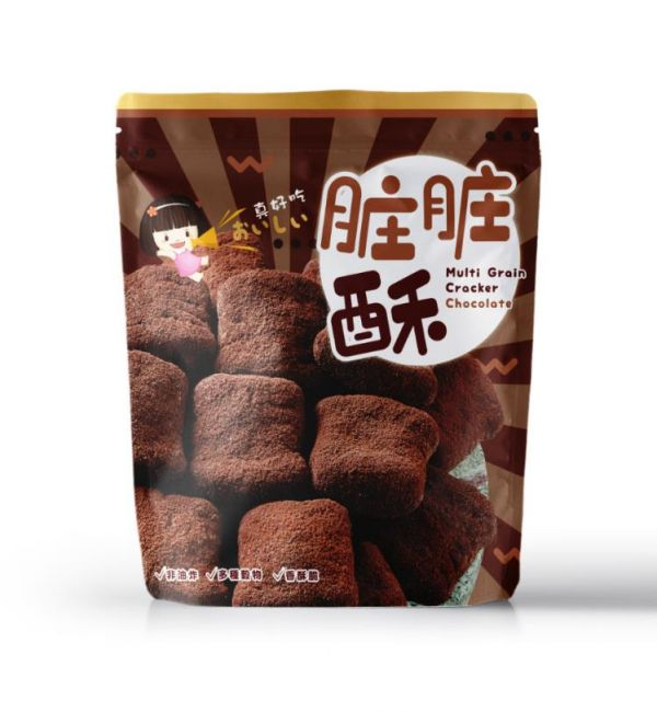 十穀米同心餅(髒髒酥)-奶素