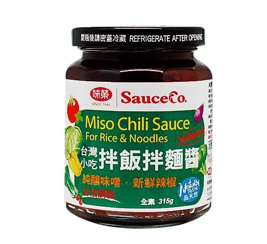 味榮 台灣小吃拌飯拌麵醬-全素