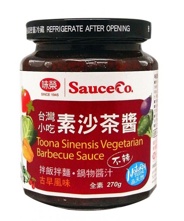 味榮 素沙茶醬(香椿口味)270G-全素