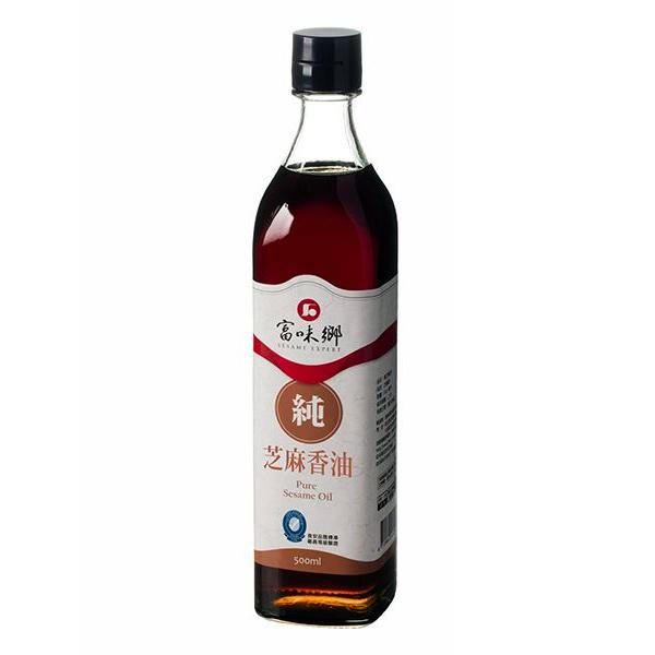 富味鄉純芝麻香油500ml-全素