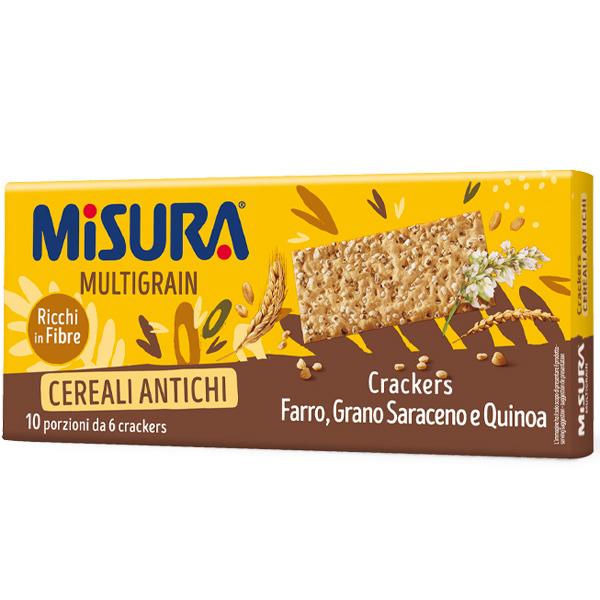 MISURA健康主義多穀麥片蘇打餅-奶素
