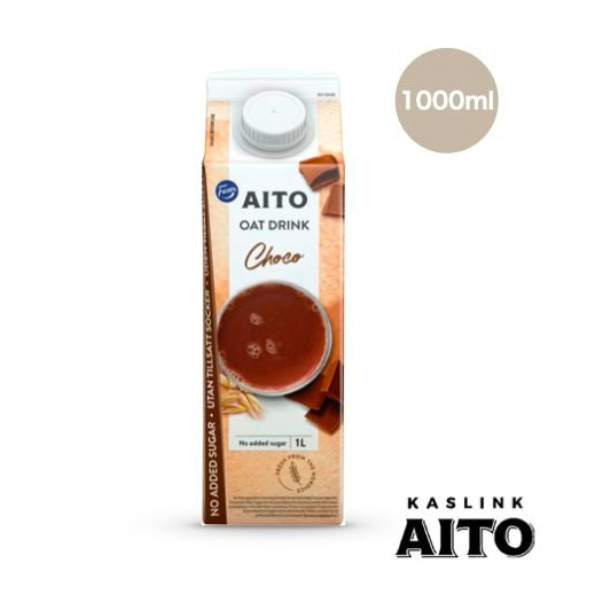 芬蘭AITO巧克力燕麥奶1L-全素