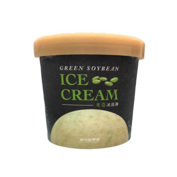 新市區農會毛豆冰淇淋-奶素