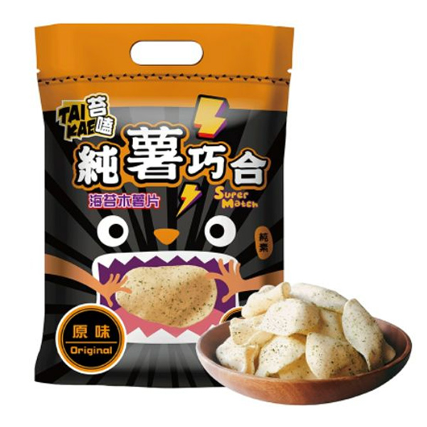 苔嗑海苔木薯片(原味)60g-全素