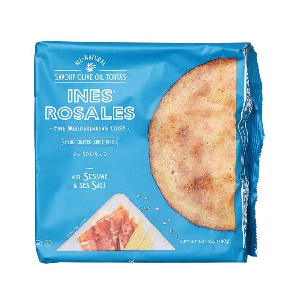 INES ROSALES西班牙海鹽手工餅-全素