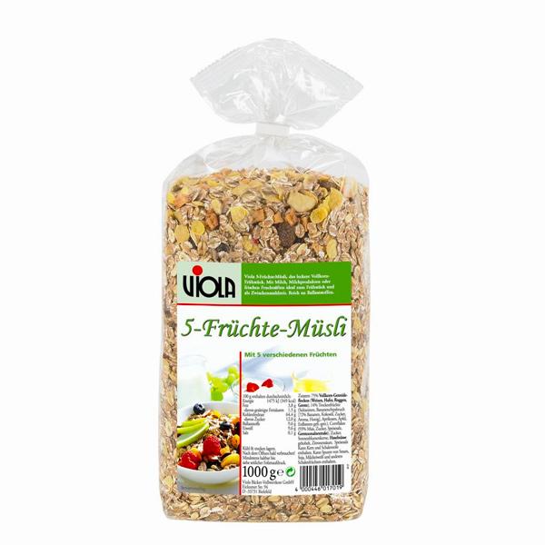Viola 麥維樂綜合水果穀片-1kg-全素