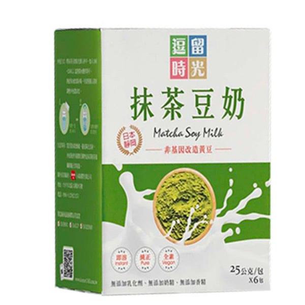 逗留時光抹茶豆奶25g(6入)-全素