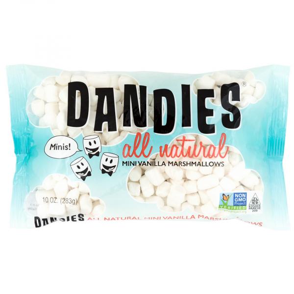 丹迪斯純素棉花糖迷你版香草口味283G-全素