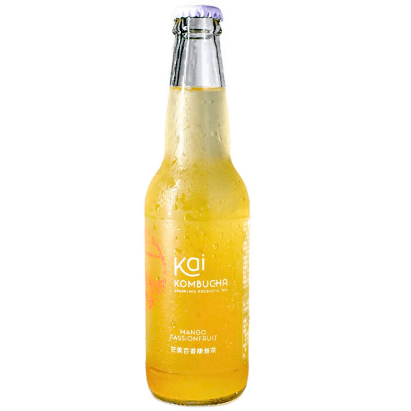 Kai康普茶(芒果百香)330ml-全素