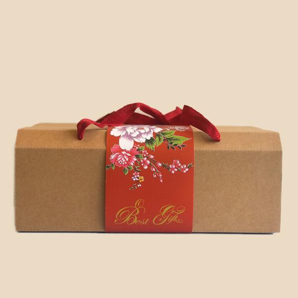 牛軋糖禮盒(僅紙盒)