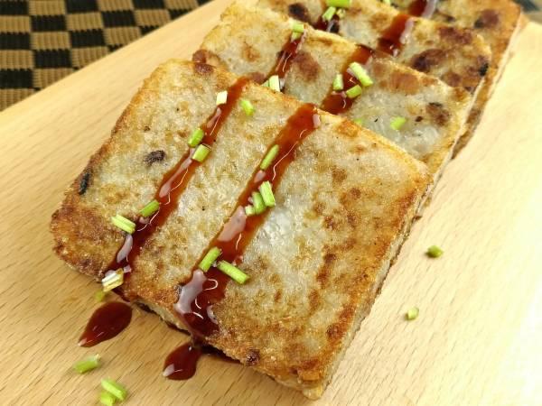 好素配竹筍糕-全素