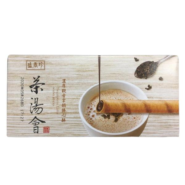 茶湯會觀音拿鐵捲心酥-蛋奶素