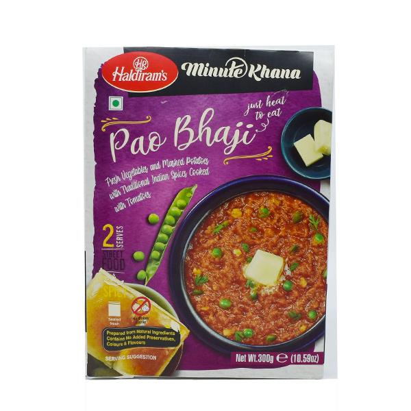 Haldirams 哈帝朗孟買馬鈴薯蔬菜咖哩-奶素