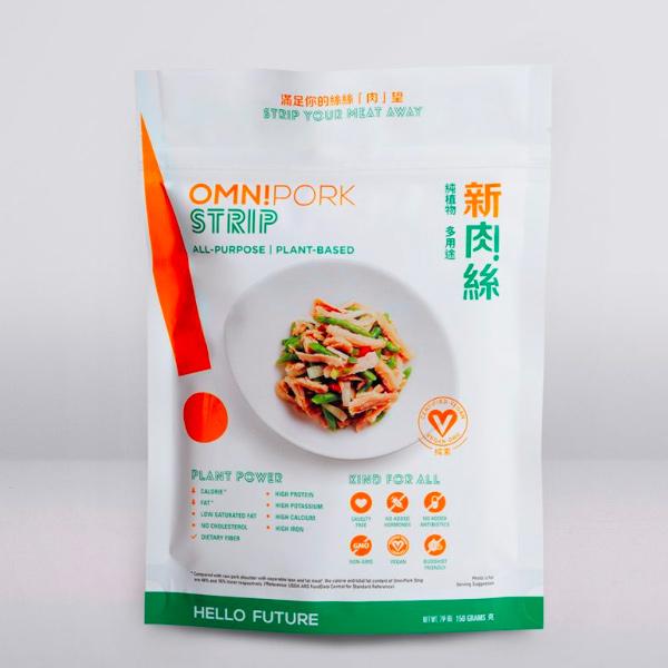 Omnipork新肉絲150g-全素