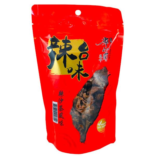 廖心蘭辣台味(辣沙茶風味)300g-全素