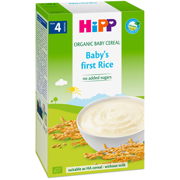 HiPP喜寶有機寶寶米精200g-全素