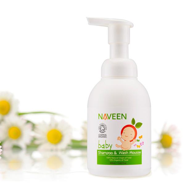 Naveen寶寶全身洗髮沐浴慕斯