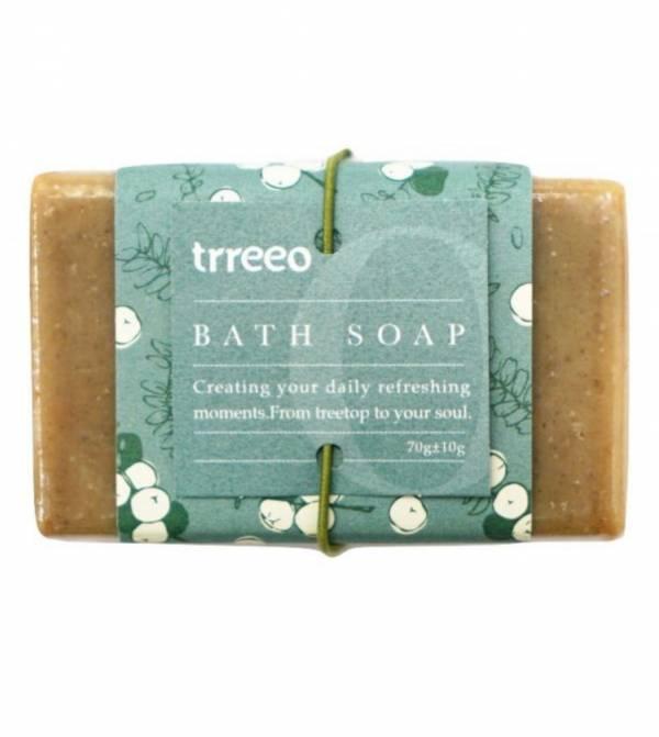 樹重奏油甘去角質皂70g-全素