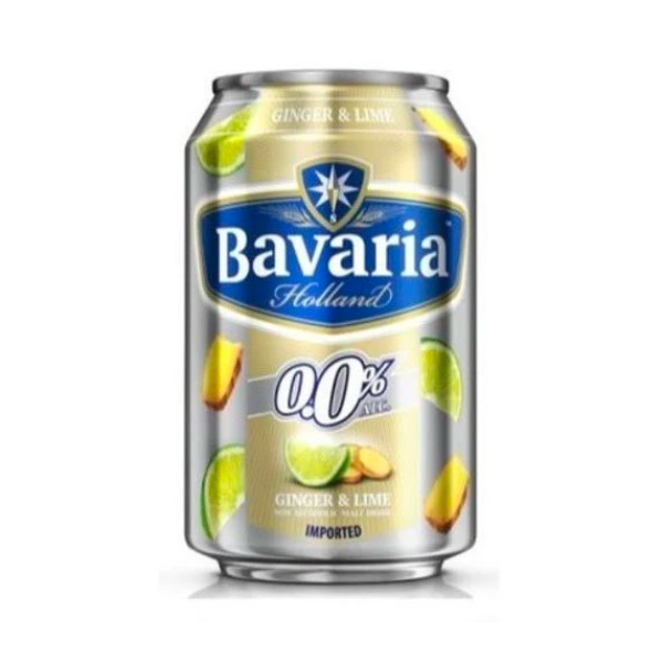 Bavaria巴伐亞薑汁檸檬風味蘇打-全素