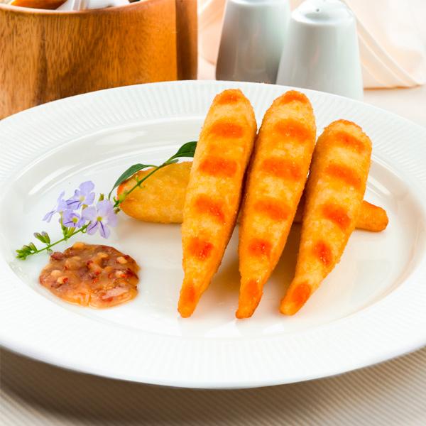 松珍黃金蝦9入-蛋奶素