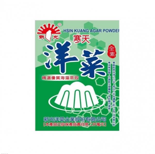 新光洋菜粉10G-全素